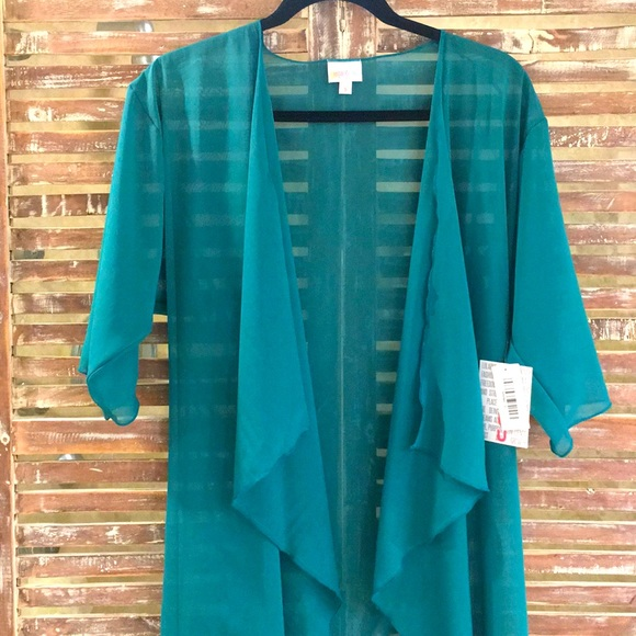 New with tags teal green small Shirley by Lularoe